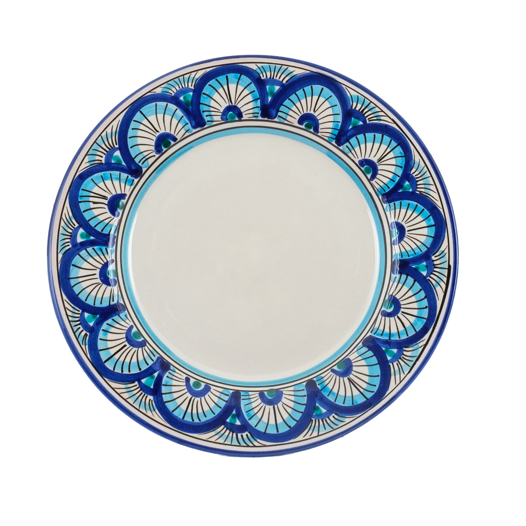 Collection dishes Ego The blue San Leone Caltagirone - Sicilia